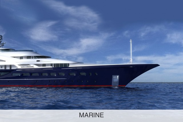 Super Yacht Rendering